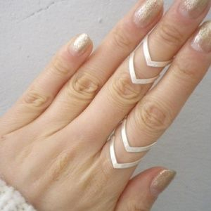 Gold & Silver Ring 3 Pack